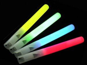 Lightstick píšťalka 15 x 160 mm žlutá