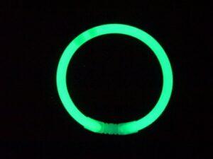 Lightstick náramek 5 x 200 mm zelený - 100 ks