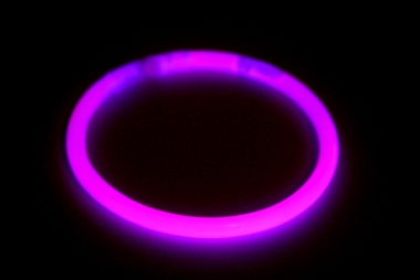 Lightstick náramek 5 x 200 mm růžový - 100 ks