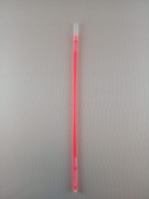 Lightstick náramek 200 x 5 mm červený - 100 ks
