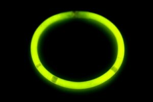 Lightstick náramek 5 x 200 mm žlutý - 100 ks
