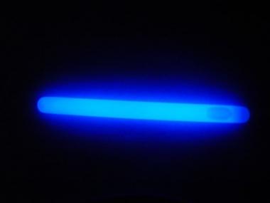 Lightstick 10 x 200 mm modrý