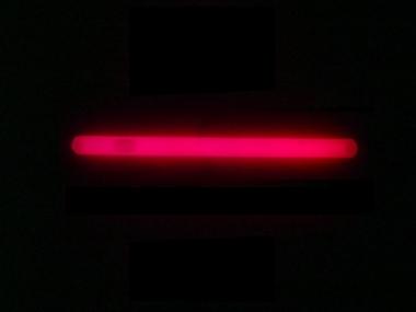Lightstick 10 x 200 mm červený