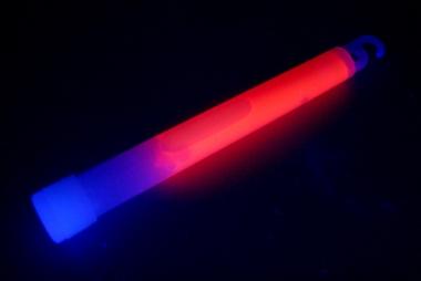 Lightstick 15 x 150 mm červený