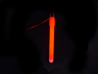Lightstick 10 x 150 mm červený