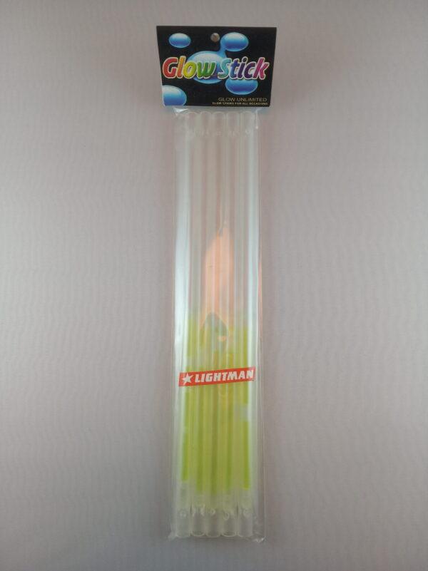 Lightstick brčko 6 x 220 mm zelené
