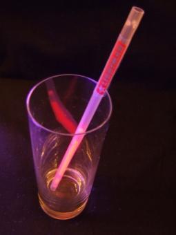 Lightstick brčko 6 x 220 mm červené - 5 ks