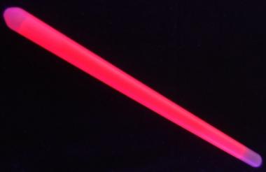 Lightstick 20 x 400 mm červený