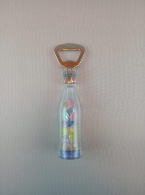 Blikací lahev - otvírák zátek