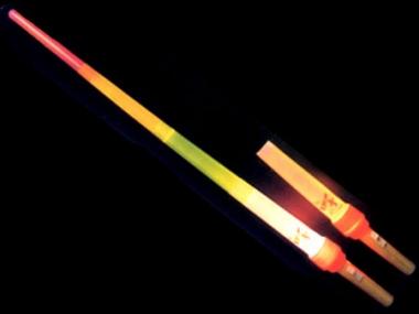 Svítící teleskopický meč blikací 1000 mm