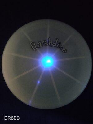 Frisbee svítící modré