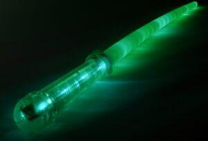 Blikací meč Star Wars zelený