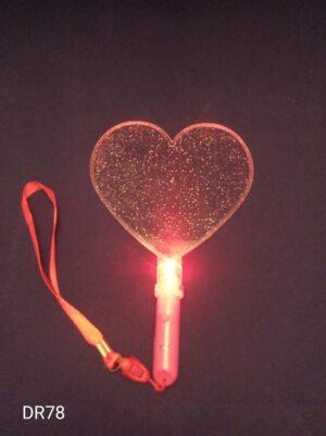 Srdce vějíř blikací