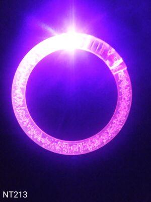 Svítící náramek bublinkový růžový