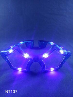 Star blikací brýle modré