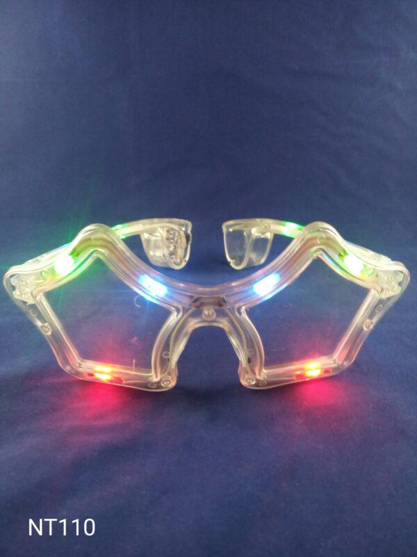 Star blikací brýle multicolor