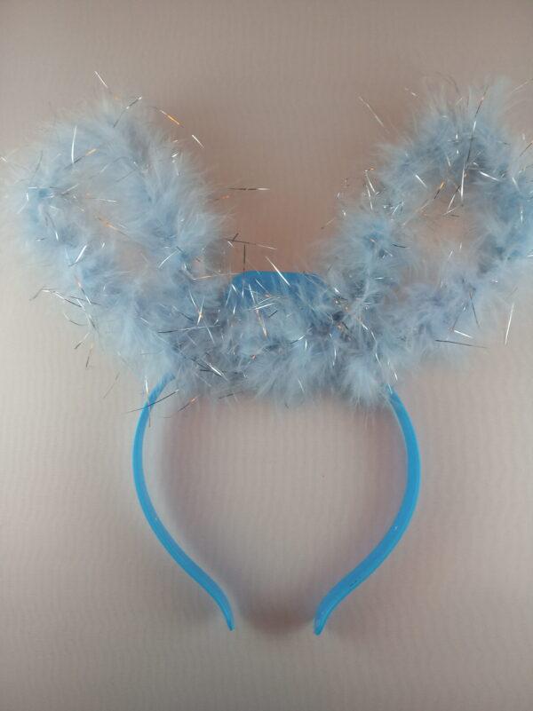Zajíček čelenka modrá