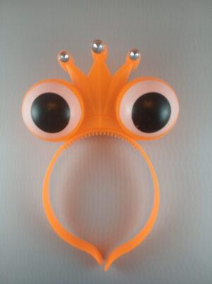 Oči - korunka blikací čelenka růžová