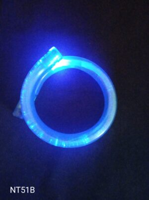 Blikací náramek bublinkový modrý