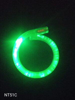 Blikací náramek bublinkový zelený