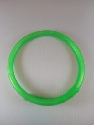 Blikací náhrdelník bublinkový zelený