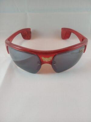 Blikací sluneční brýle červené - New style