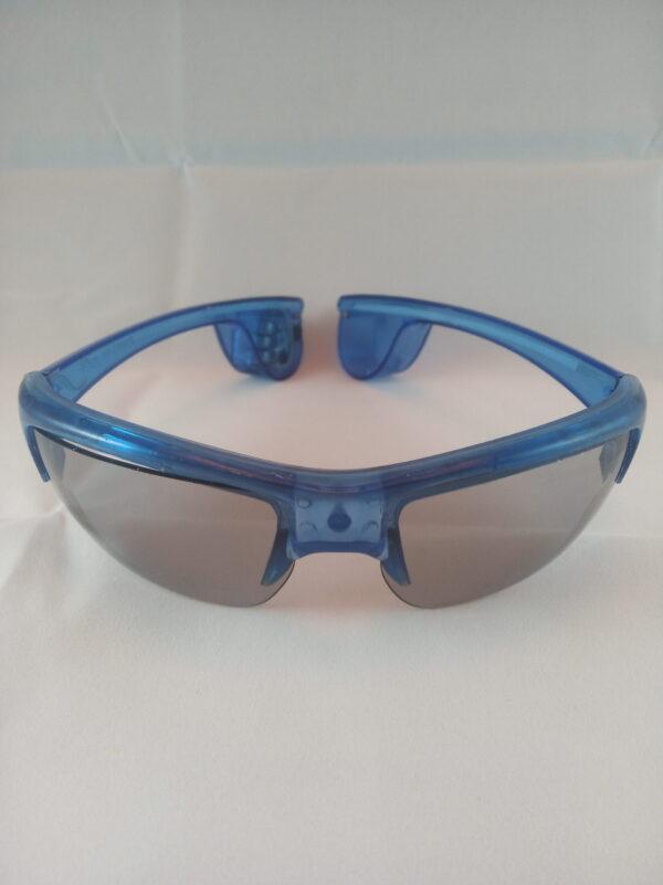 Blikací sluneční brýle modré - New style