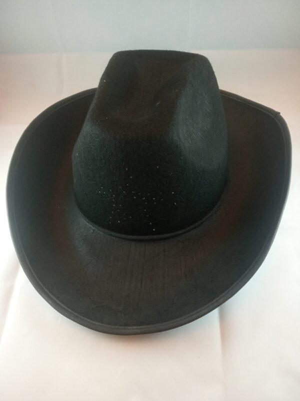 Kovbojský klobouk s blikací hvězdou - dětský