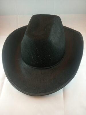 Kovbojský klobouk s blikací hvězdou