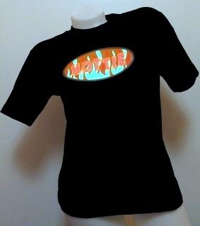 Svítící triko hottie - dámské (XL)