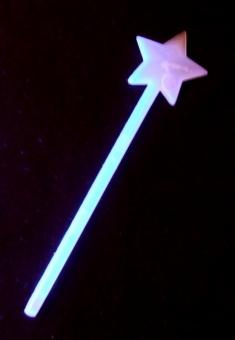 Lightstick 6 x 200 mm modrá hvězda
